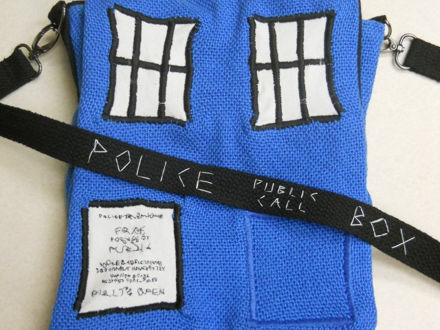 Police Call Box Purse
