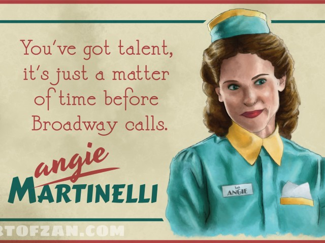 Waiting for Broadway – Agent Carter