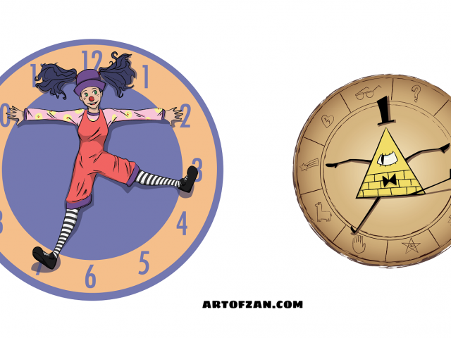 Cipher Wheel Stretch – Gravity Falls
