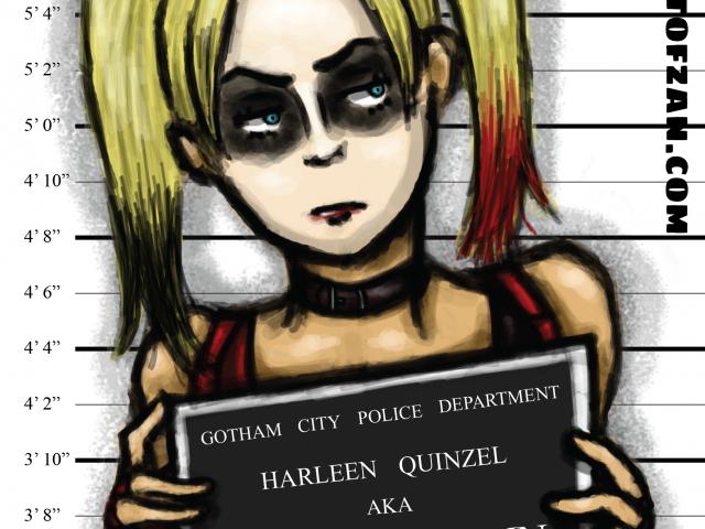Harley Quinn – Arkham Inmates