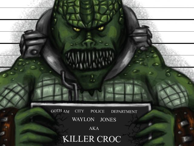 Killer Croc – Arkham Inmates