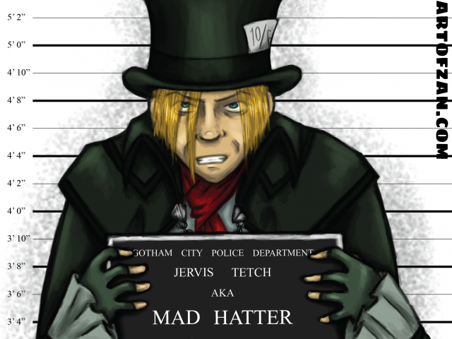 Mad Hatter – Arkham Inmates
