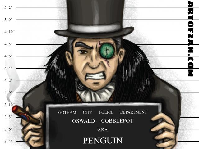 The Penguin – Arkham Inmates
