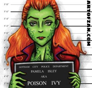 bman poison ivy