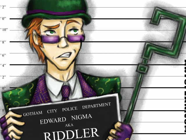 The Riddler – Arkham Inmates