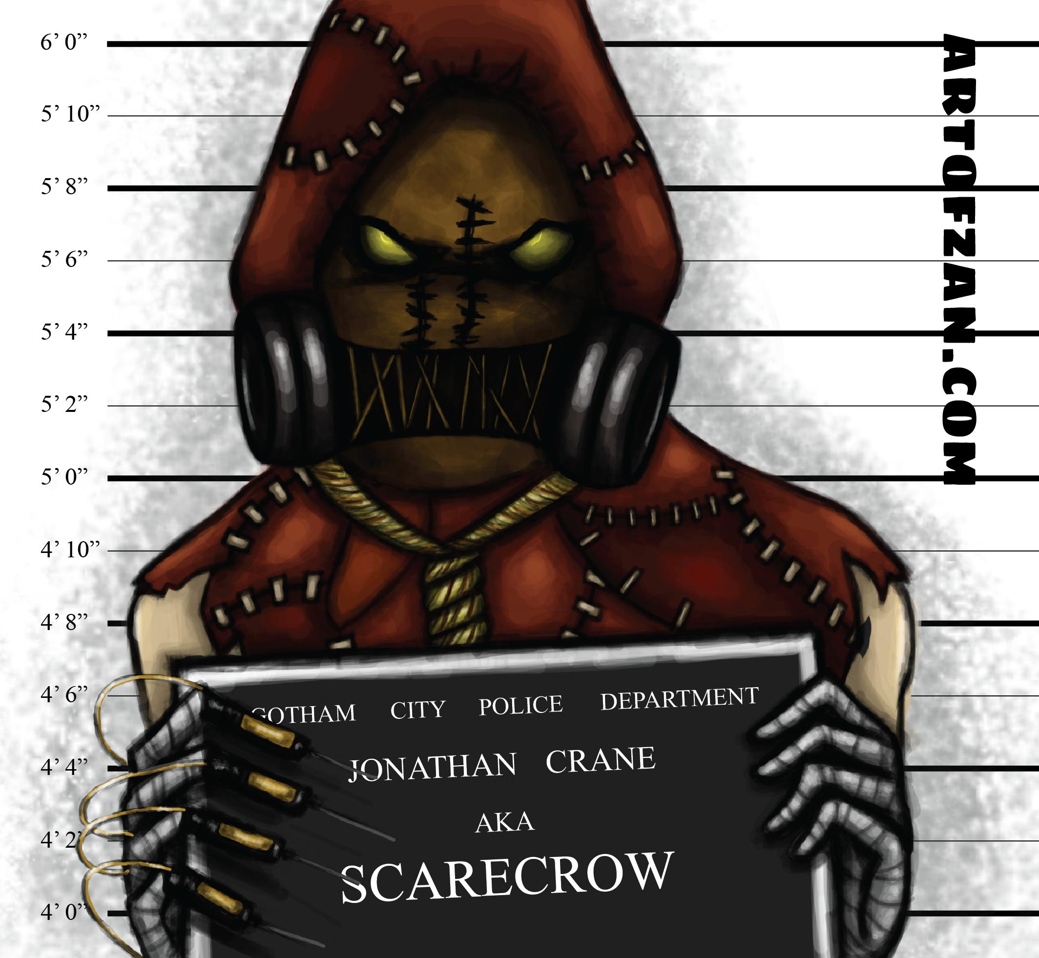 bman scarecrow label