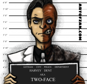 bman two face