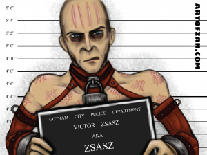 bman zsasz label