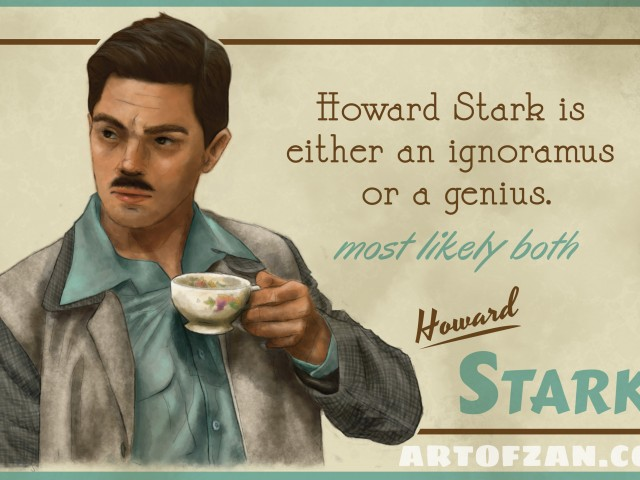 Howard Stark – Agent Carter