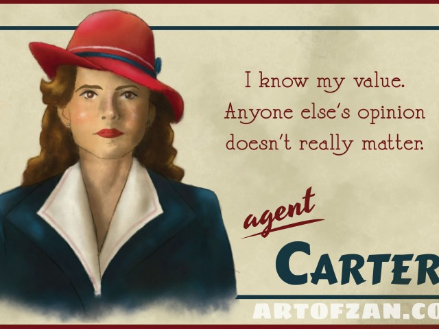 A Valuable Agent – Agent Carter